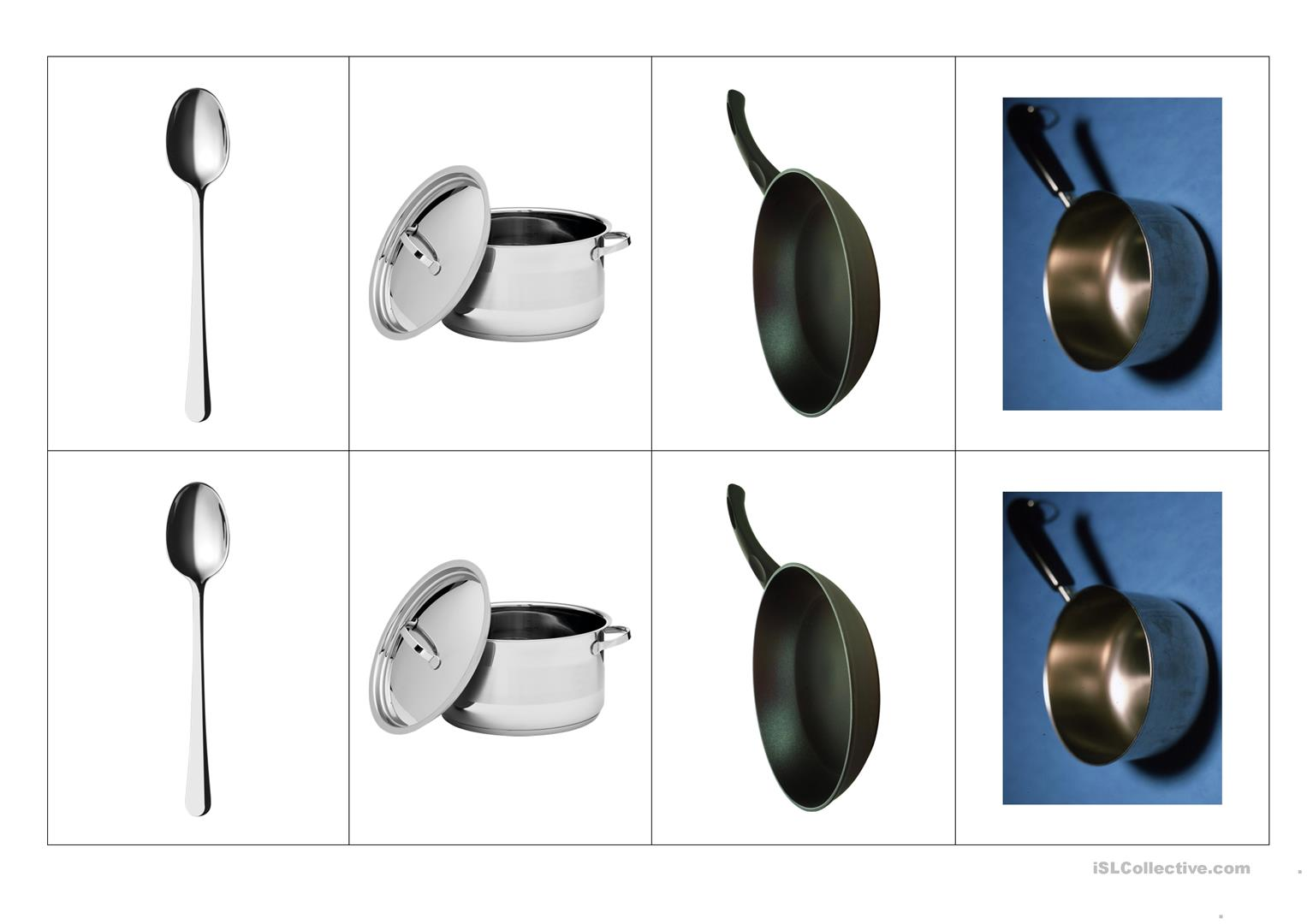 Kitchen Objects And Utensils