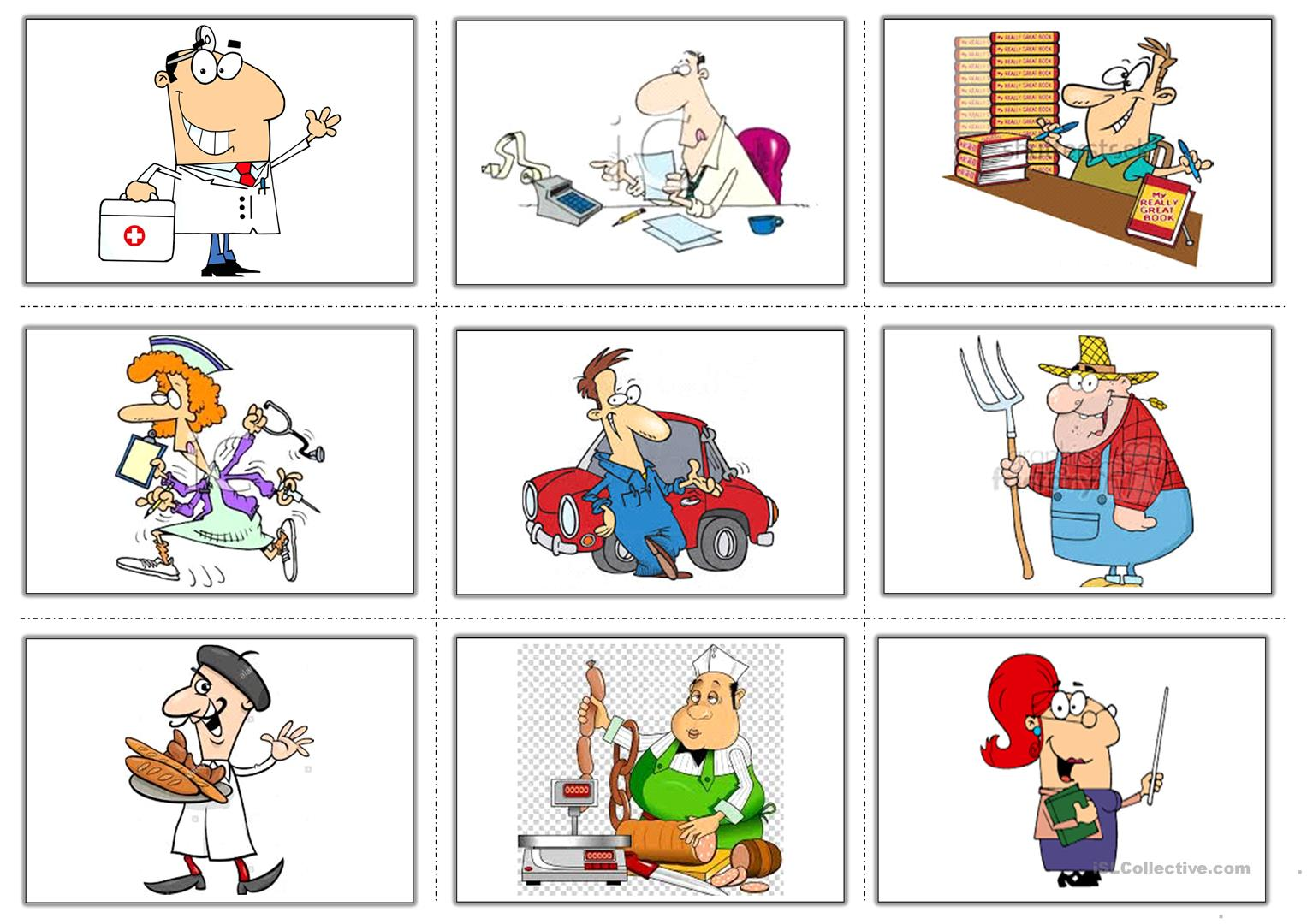 Occupations Flashcards