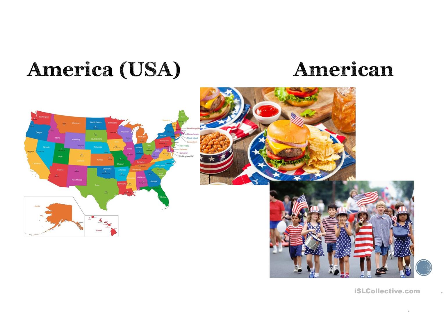 Country And Nationality