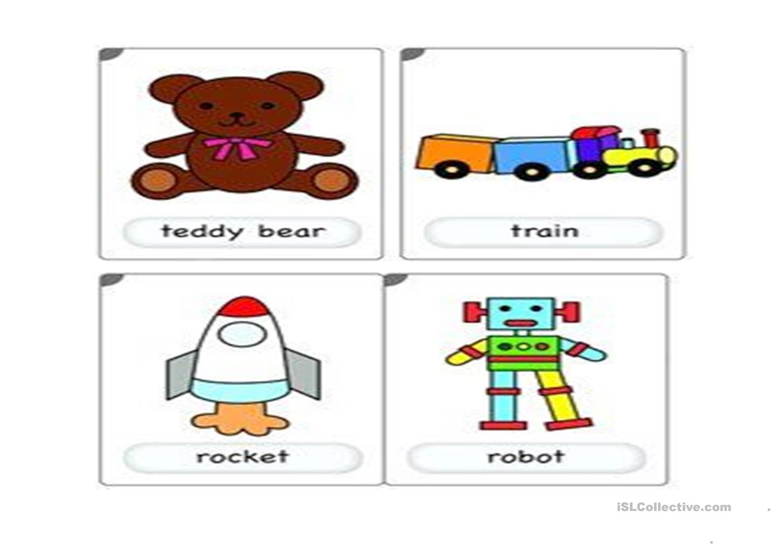 My Toys Ppt Worksheet