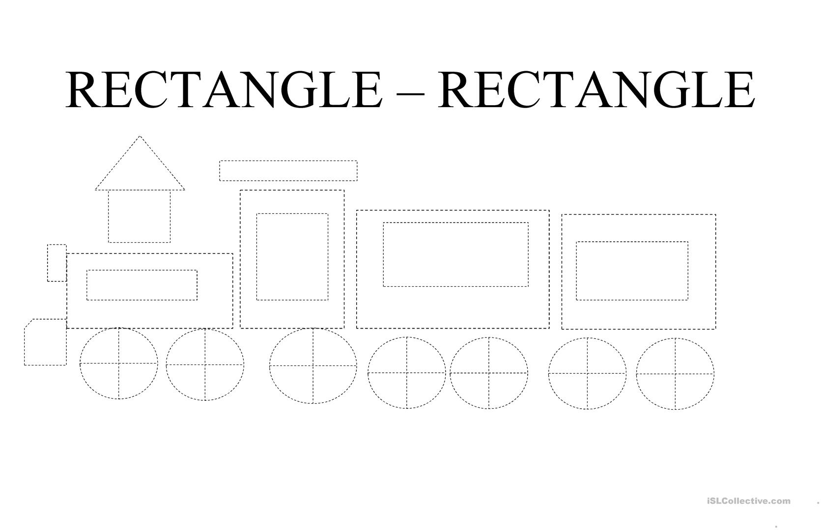 Rectangle For Preschoolers