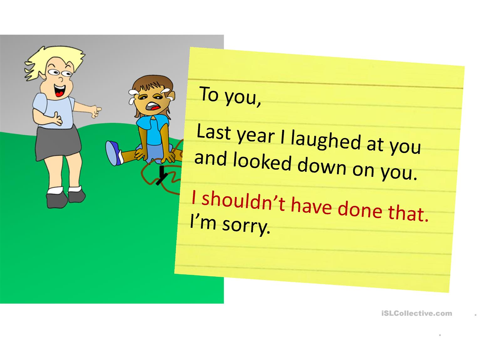 Expressing Regrets With Should Have Participle 1