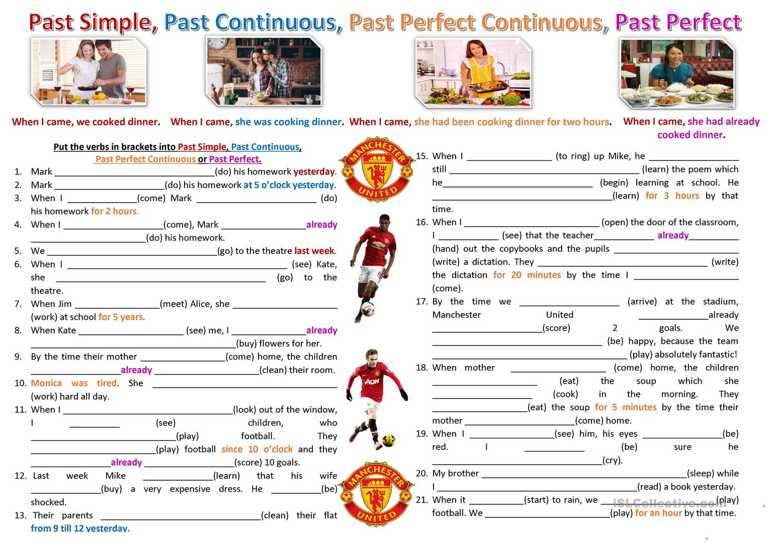 Past Tense Consolidation