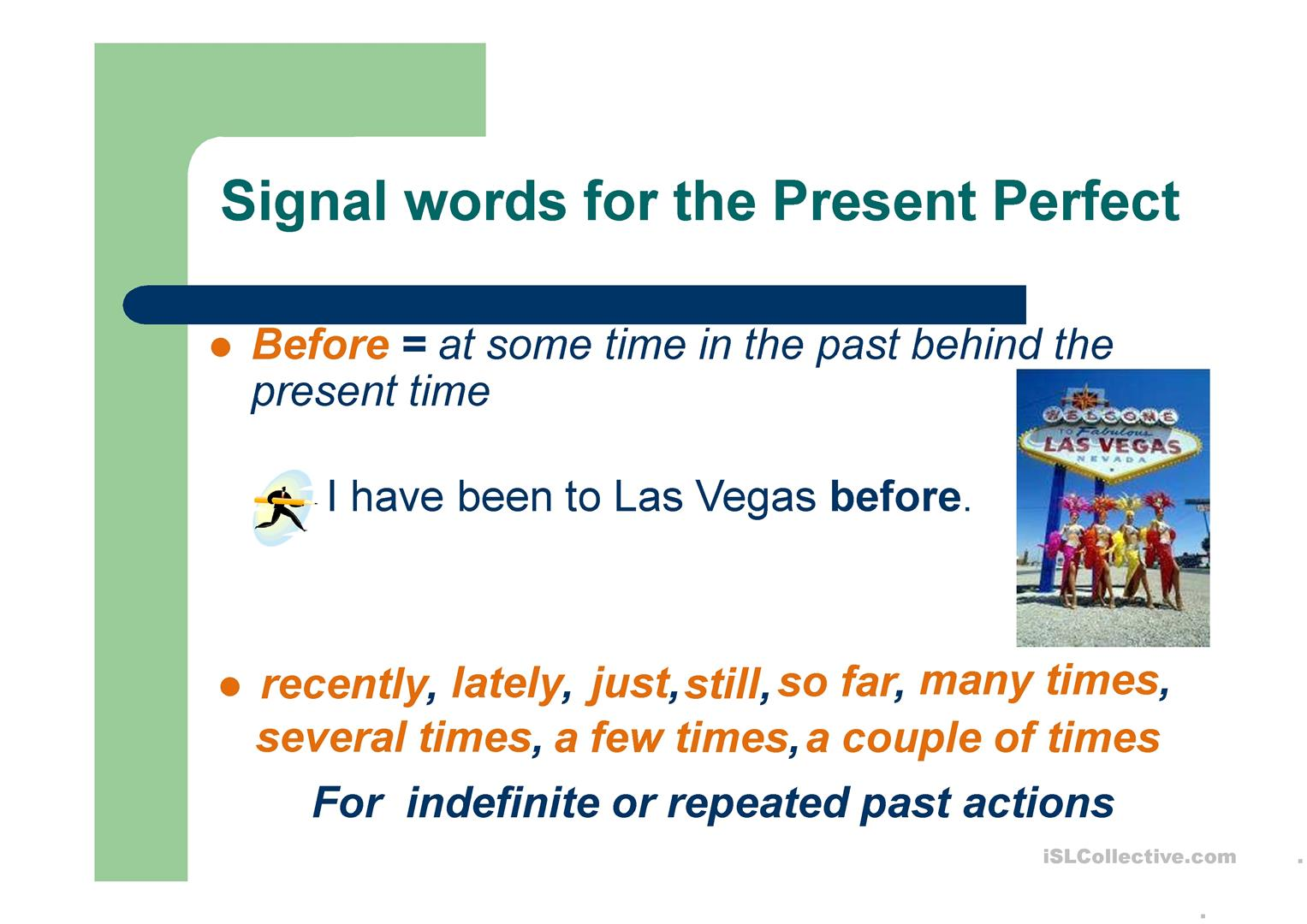 Present Perfect Tense Vs Past Simple