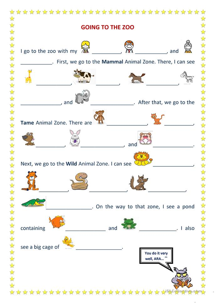 Www Farm Animal Preschool Worksheets