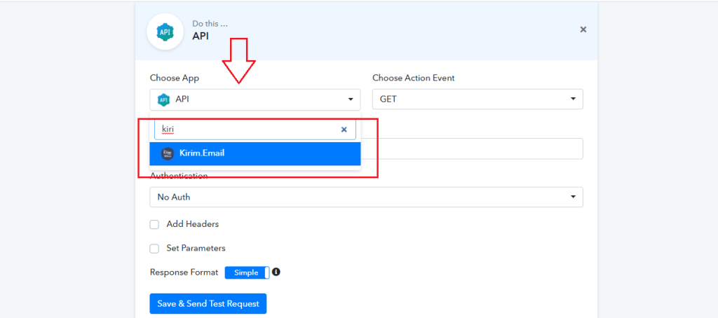 How to use Pabbly Connect to Integrate Apps with KIRIM.EMAIL 12