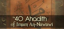40 Hadith of Prophet Muhammad (sm)