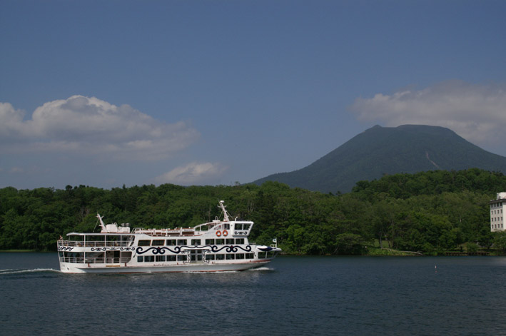 "Akan Sightseeing Steamship ""Lake Akan Marimo Cruise"""