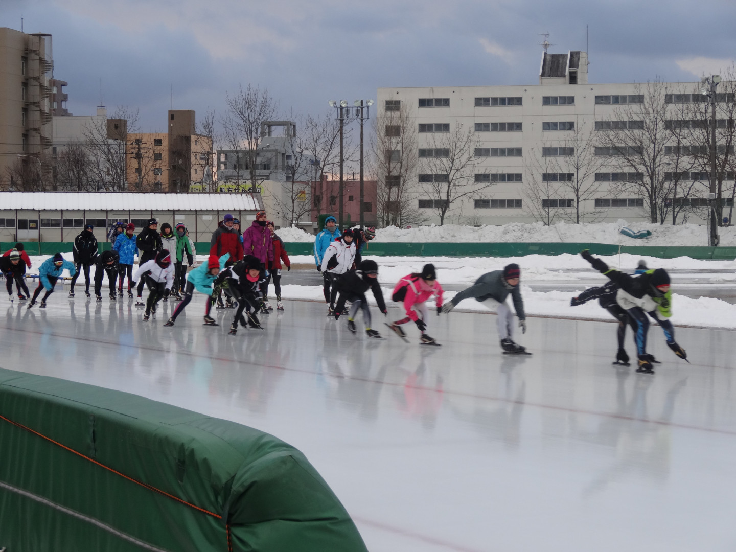 All ages can enjoy ice skating year round!