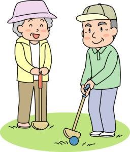 Entertaining golf
