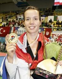 Ana Zaninovic, Croatia, -53 Kg.