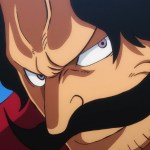 One Piece's official illustration depicts one of Gol D. Roger's most iconic moments