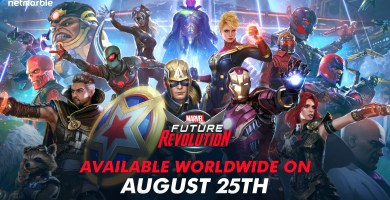 Netmarble's MARVEL Future Revolution launches in August