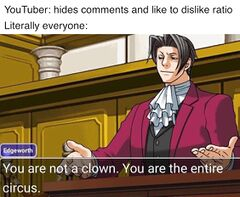 You Are Not A Clown You Are The Entire Circus Meming Wiki
