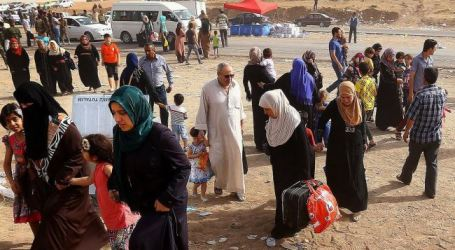 1000S OF IRAQIS FLEE CHRISTIAN AREAS AFTER ISIL MILITANTS ATTACK