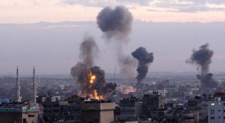 ZIONIST FORCES AIRSTRIKES SPOIL GAZA'S 1ST RAMADAN NIGHT