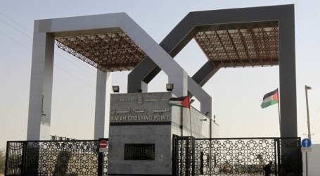 EGYPT OPENS RAFAH CROSSING FOR FOUR DAYS