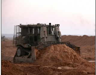 ISRAELI ARMY CARRIES OUT A LIMITED INVASION INTO GAZA