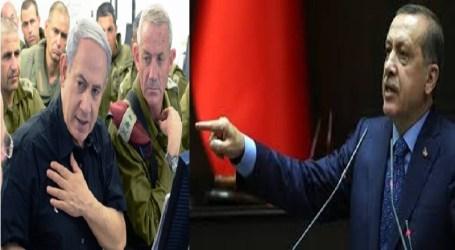TURKEY TO DRAG ISRAEL TO INTERNATIONAL COURT OVER GAZA: ERDOGAN
