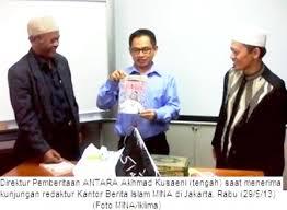 MI'RAJ NEWS AGENCY EXPLORES COOPERATION WITH ANTARA