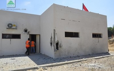 ISRAELI DRONES BEGIN TARGETING INDONESIAN HOSPITAL IN GAZA