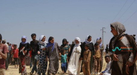SYRIAN WOMEN SHOW SOLIDARITY WITH YEZIDI PEERS