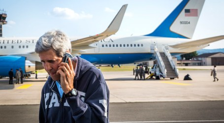 ISRAEL WIRETAPPED KERRY'S CALLS DURING PEACE TALKS
