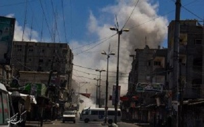 ISRAEL VIOLATE CEASEFIRE AGAIN BY BOMBARDING RAFAH