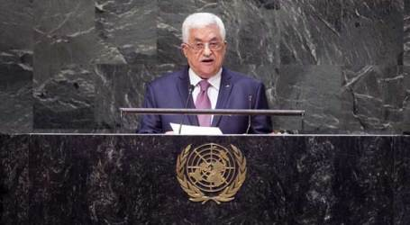 ISRAELI OFFICIALS CRITICISE ABBAS' SPEECH AT THE UN GENERAL ASSEMBLY