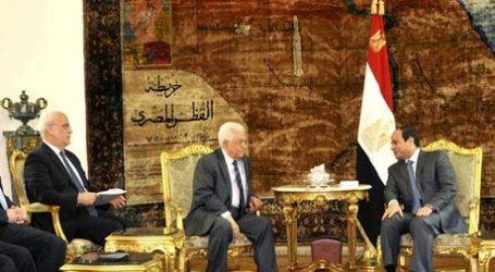EL-SISI MEETS PALESTINIAN PRESIDENT, SAUDI FM, INTELIGENCE IN CAIRO