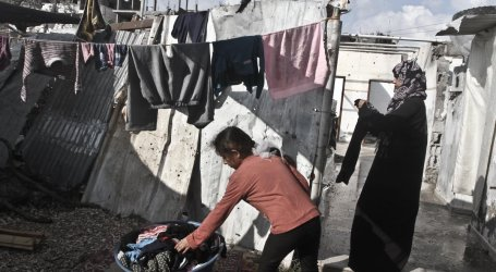 GAZA RESIDENTS LOSE FAITH IN INTERNATIONAL AID