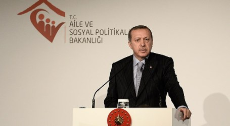 ERDOGAN : SOLUTION OF ALL GLOBAL PROBLEMS IS 'JUSTICE'
