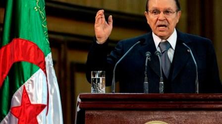 ALGERIAN PRESIDENT CALLS ON WORLD COMMUNITY TO HELP RESTORE PALESTINIAN RIGHTS