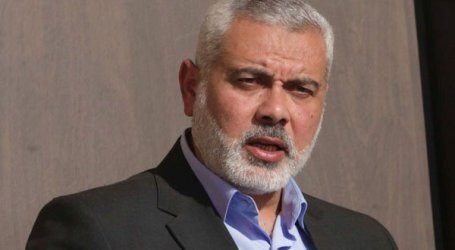 HANIYEH WARNS AGAINST AL-AQSA MOSQUE 'DEMOLITION'
