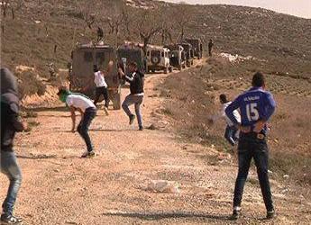 SETTLERS ATTACK PALESTINIAN SCHOOL NEAR NABLUS