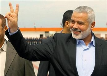 HANIYEH SAYS HAMAS COMMITTED TO CEASEFIRE AS LONG AS ISRAEL IS