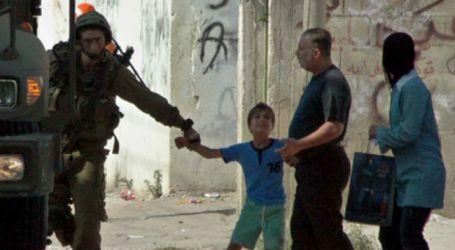 ISRAEL REGULARLY ARRESTS PALESTINIAN CHILDREN
