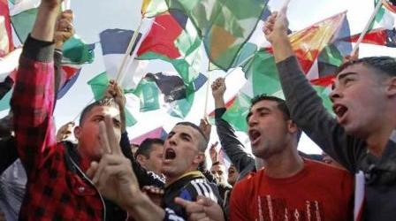 PALESTINE TO PUSH UN FOR STATEHOOD VOTE