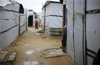 SECOND GAZA INFANT DIED DUE TO FREEZING WEATHER