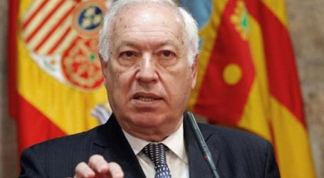 SPANISH FM URGES INTERNATIONAL AID FOR GAZANS