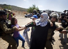IOA BRINGS PALESTINIAN CHILD TO COURT HANDCUFFED