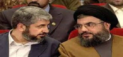 HAMAS CALLS ON HEZBOLLAH TO UNITE FOR A FIGHT AGAINST ISRAELIS