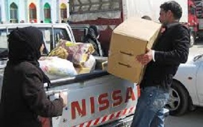 FOOD ENTERS SYRIA'S HOMS AFTER CEASEFIRE: UN