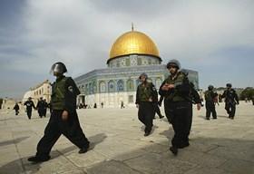 ISRAELI OFFICIALS, SETTLERS STORM AL-AQSA MOSQUE