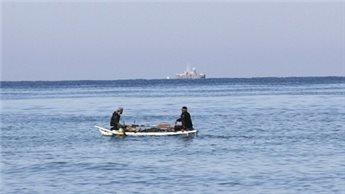 ISRAELI NAVY OPENS FIRE AT GAZA FISHING BOAT