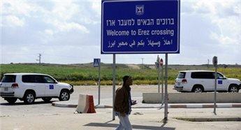 ISRAELI FORCES DETAIN GAZA BUSINESSMAN AT EREZ CROSSING