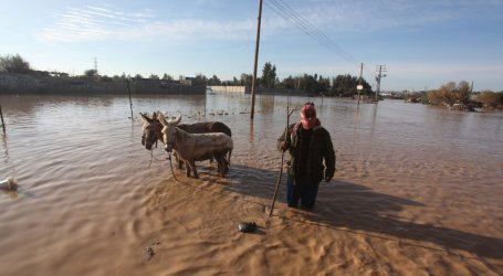 ISRAEL 'OPENS DAM GATES' FLOODING GAZA: PALESTINIAN AGENCY