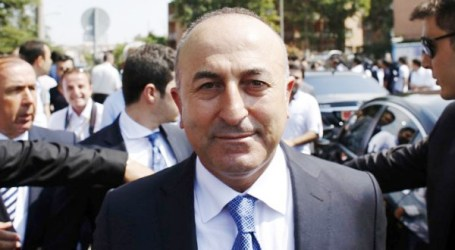 TURKISH FM PULLS OUT OF CONFERENCE IN PROTEST AGAINST ISRAEL