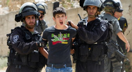 ISRAEL ARRESTED 350 PALESTINIANS IN JANUARY 2015