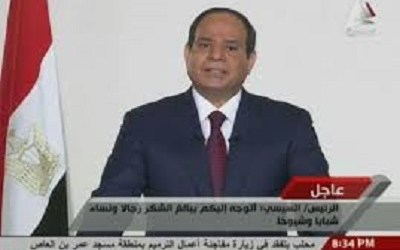 AL SISSI ORDERS EVACUATION OF EGYPTIANS IN LIBYA